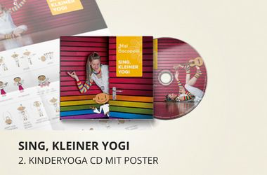 "Preview for CD ""Sing, kleiner Yogi"" WITH POSTER"